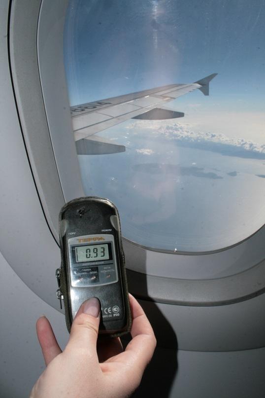 Радиация в самолете для беременных 37