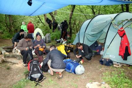 Лагерь экспедиции