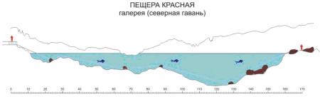 Схема сифона «Северная гавань»